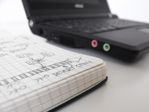 notebook and laptop