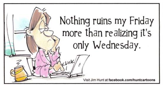 Friday wednesday