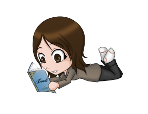 Reading chibi