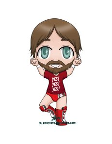Picture of chibi Daniel Bryan