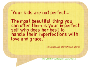 Kids not perfect