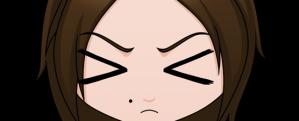 Sad chibi eyes