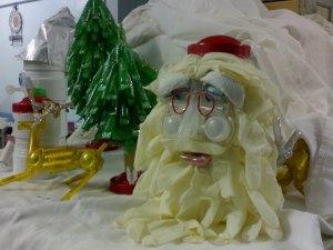 glove santa