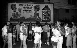 Teen dance in the 60's